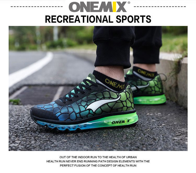 Original onemix Air Cushion Mens Running Shoes for Women New Female Walking Sneakers Jogging sports Men Racer Urh Trainers 36-47 3