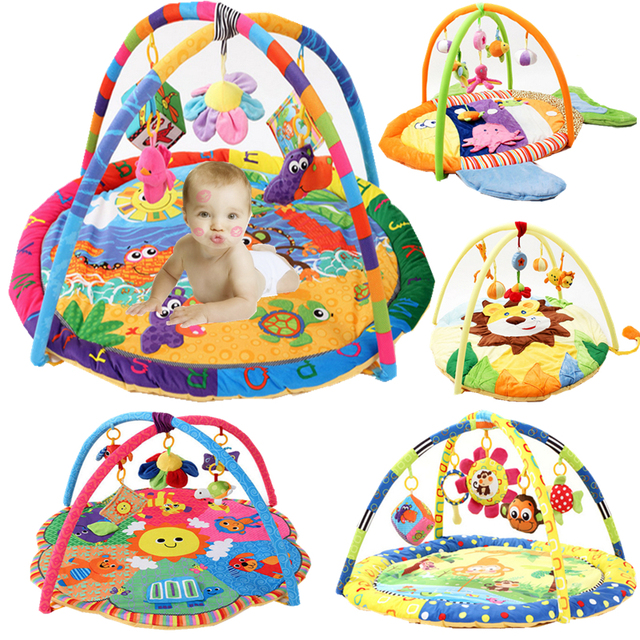 New Arrival Soft Baby Play Mat Baby Music Playmat  Educational Toys Kids Carpet Children Playmat Newborn Gym Mat With Frame
