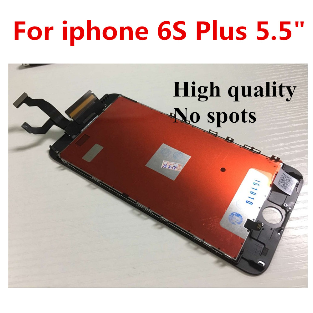 OEM White 10PCS Grade A+++ No Dead Pixel LCD For iphone 6s plus 5.5 Display Touch Screen Digitizer Assembly Replacement DHL