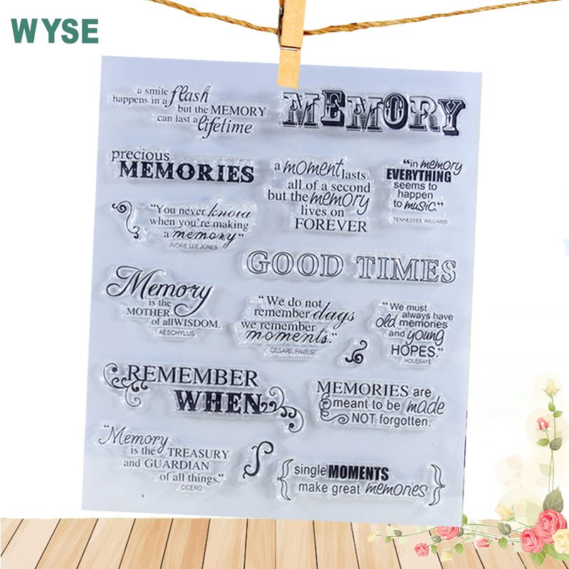 14*18cm Memory vintage rubber stamps Family member Stamp lace stamps letter clear stamps Edison for DIY Scrapbooking tool member