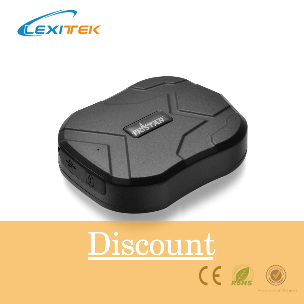 Localisateur de traqueur de GPS de Lexitek TKSTAR TK905 TK905B pour le véhicule de voiture Google carte 5000 MAH longue durée de vie de batterie traqueur de GSM GPRS