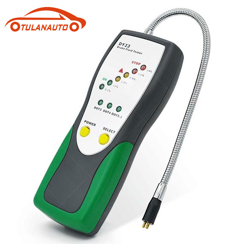 Brake Fluid Tester Automotive Brake Fluid Oil Detection Test Pen Detector DOT3 DOT4 DOT5.1 Auto Tester Tool