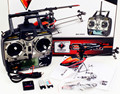 2.4G 6Ch V922 3D Radio Control Mini Flybarless Helicopter Heli RTF with Gyro LCD