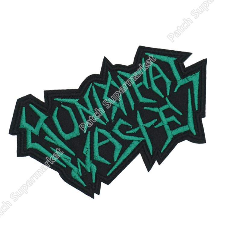 MUNICIPAL WASTE Logo Music Band Iron On Sew On Patch Heavy Metal Tshirt sewing accessories for
