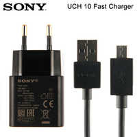 Original SONY Adapter Fast Charging Charger UCH10 For SONY Xperia X Performance F5122 Z5 Compact