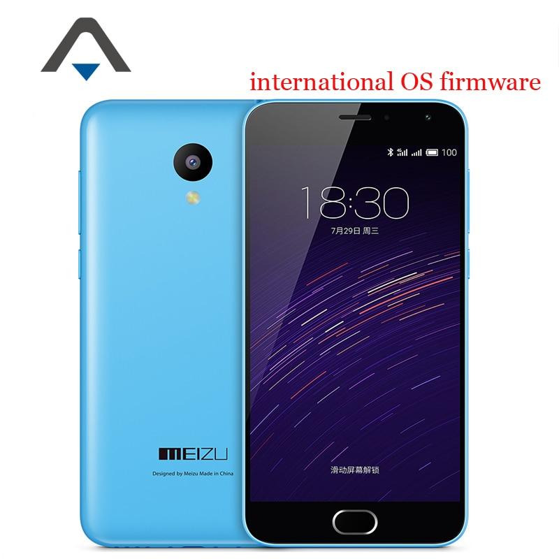 Original Meizu M2 Mini FDD LTE 4G Mobile Phone MTK6735 Quad Core 5 0 1280 720P
