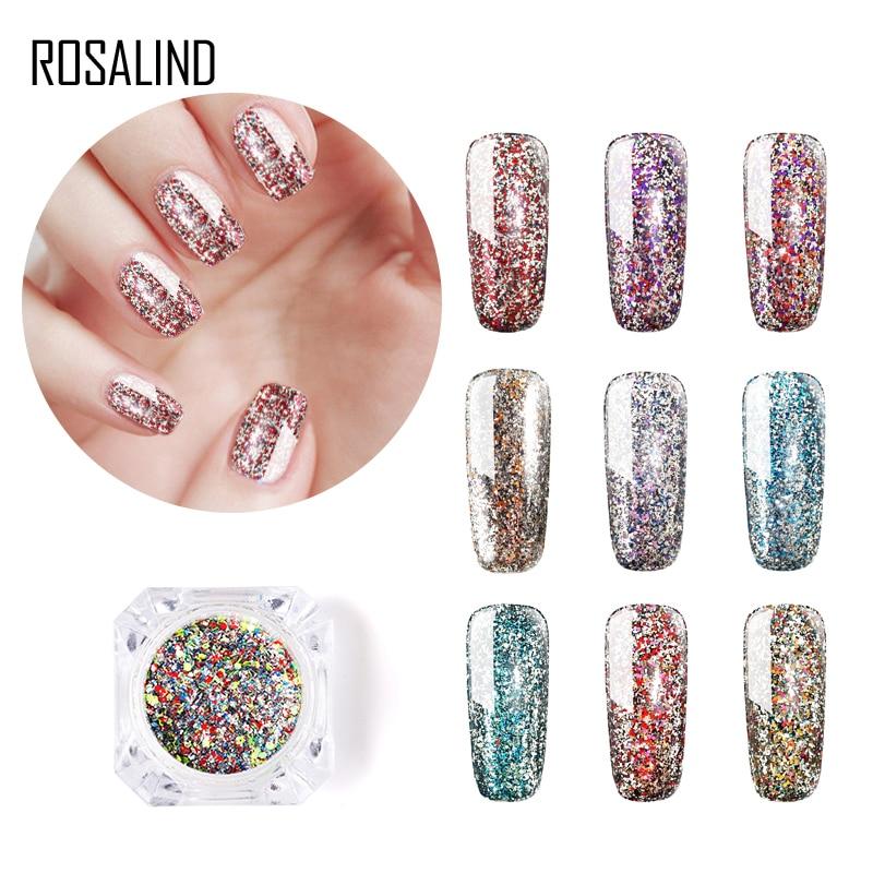 rosalind 1pcs platinum nail glitter