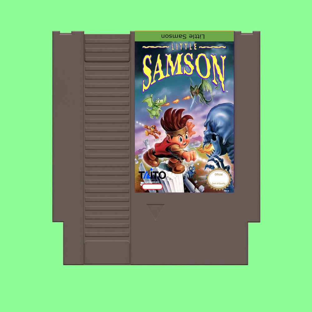 Best Sale Little Samson Game Card For 72 Pin 8 Bit Game Player