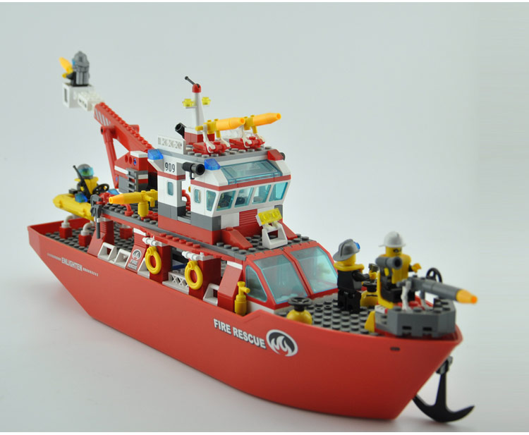 Model building kits compatible with lego city boat 598 3D blocks Educational model  building toys hobbies for children 359 pcs lepin 05032 star wars rex s at te model building kits compatible with lego city 3d blocks educational toys hobbies for children