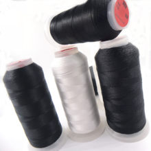 Fil à coudre en nylon haute résistance noir et blanc 210D 420D 630D, fil à coudre manuel, décoration intérieure de canapé en cuir