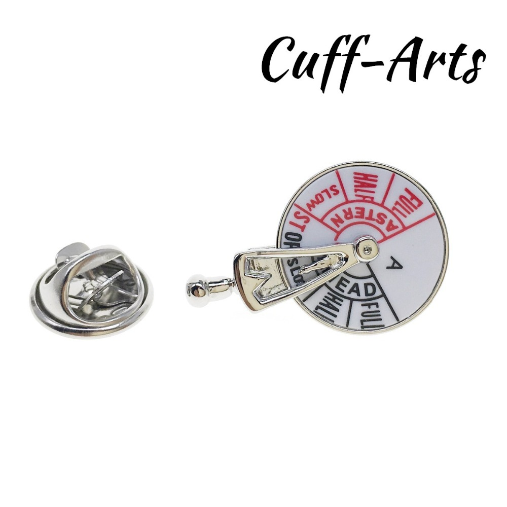 Lapel Pin For Men Ship Speed Control Lapel Pin Badges Pride Brooch Hijab Pins Crystal Pin Broche Pusheen by Cuffarts P10245 in Brooches from Jewelry Accessories
