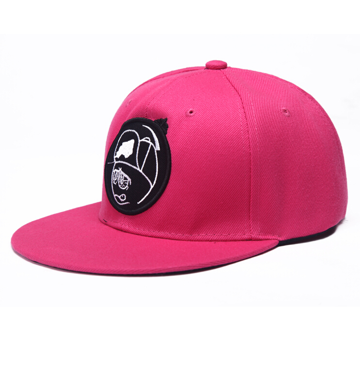 New Style Rose PinK Snapback Cap Hip Hop Cap SnapBack Fashion Baseball Cap Gorras Sport gorras Hats Sun Hat for Women Men