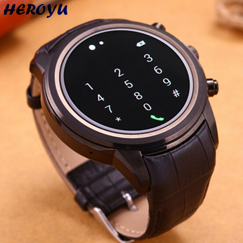 New Heart rate Smart Watch For 3G Android WCDMA WiFi Bluetooth font b SmartWatch b font