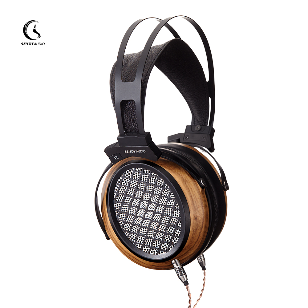 sendyaudio Black Beauty Series Aiva 97*76mm Planar Magnetic Headphones(China)