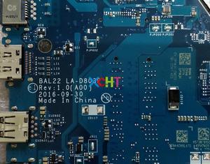 Image 5 - Dla Dell Inspiron 15 5565 R1WJH 0R1WJH CN 0R1WJH BAL22 LA D803P REV: 1.0 (A00) a10 9600P CPU płyta główna płyta główna laptopa płyty głównej testowany