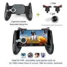 Portable 3 in 1 Mobile Game Survival Gamepad Joystick Button