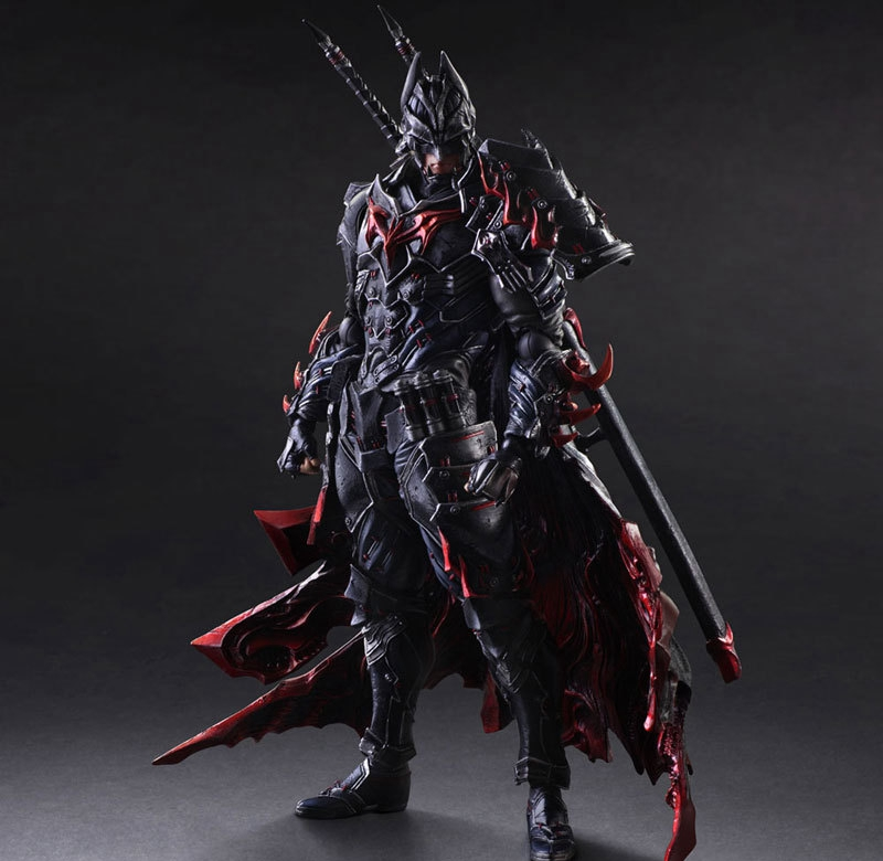Timeless Bushido Batman Figure BAT Play Arts Kai Variant Play Art KAI PVC Action Figure Bat Man Bruce Wayne 25cm Doll Toys