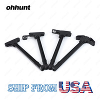 Ohhunt Tactical AR 15 Cocking Charging Handle Ambidextrous Shooters Charge Bolt Assembly Aluminum Matte Four Styles