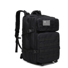 AIFEI 45L Outdoor Tactical Backpack 3P Military Molle Bag Army Sport Travel Rucksack Camping Hiking Trekking Camouflage Bag недорого