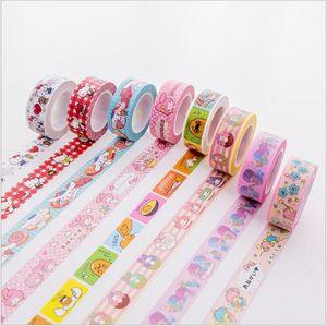 15mm Little Twin Stars Cinnamoroll My Melody Kitty Gudetama Decoration Washi Tape DIY Planner Diary Scrapbooking Masking Tape(China)