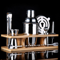 American stainless steel cocktail shaker Set of snow cups Bar shake cup Milk teapot Cocktail pot Bar Sets 550ml/700ml