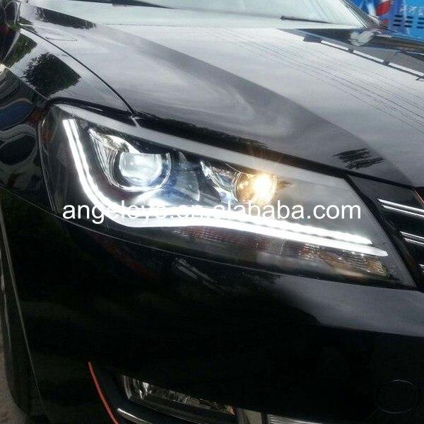 2011-2014 год для VW <font><b>Passat</b></font> <font><b>B7</b></font> североамериканской версии светодиодный налобный фонарь LDV2