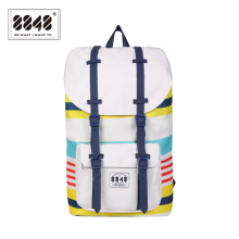 8848 Brand Backpack Unisex Travel Bag Big Capacity 20.6 L Popular Polyester European And American StyleExcellent C051-A