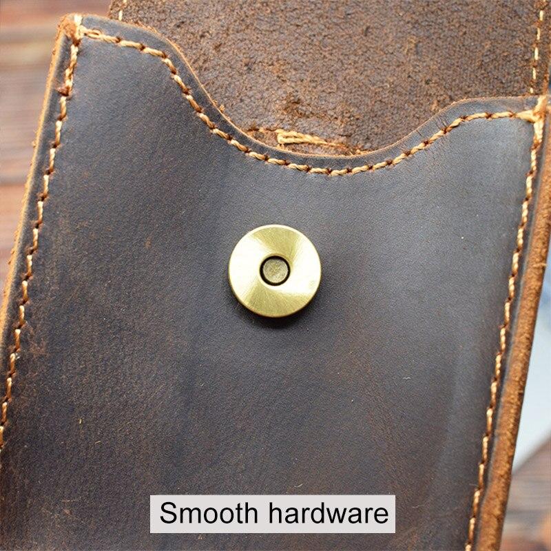 cintura pendurado moeda saco de armazenamento crazy