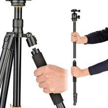 DIGIPOD Professional Carbon Fiber Ball Head Tripod for DSLR Camera Canon Nikon C255 BH 52MT