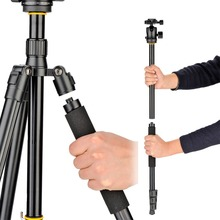 DIGIPOD Professional Carbon Fiber Ball Head Tripod  for DSLR Camera Canon Nikon C255+BH-52MT