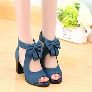 IF FEEL 2018 High Heels Female Sandals Summer Shoes