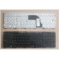 New SP Espanhol Teclado PARA HP Pavilion DV7 7000 DV7 7100 DV7 7200 DV7 7050ER laptop teclado Preto com frame|keyboard for hp|keyboard for hp pavilionlaptop keyboard -