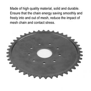 9 Hole 44 Tooth Chain Sprocket for 49cc 66cc 80cc Engine Motorized Bicycle Motorcycle Accessories Transmission Belt Wheel