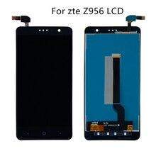Dla zte Z956 X4 ekran LCD z ekranem dotykowym wymiana części dla ekran tablet graficzny 1280*720 darmowa wysyłka