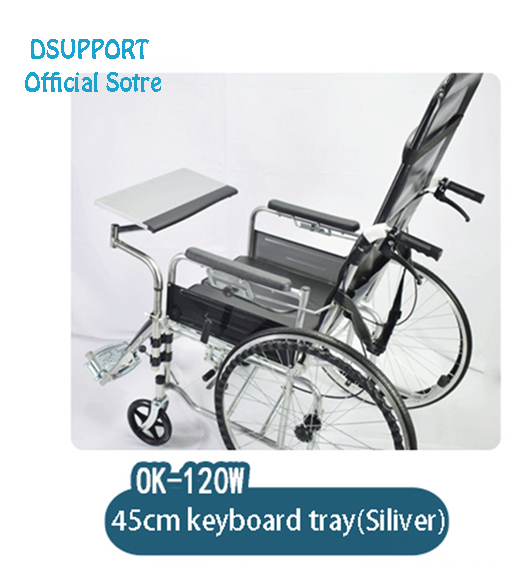 OK120 Multifunctional Wheechair Clamping Laptop Holder Keyboard Pad Support Lapdesk Notebook Support in Mouse Pads from Computer Office