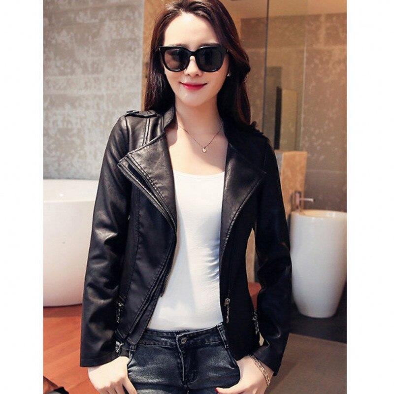 nouveau femmes en cuir veste courte en cuir manteau veste simili cuir femme femmes vestes 7wl024