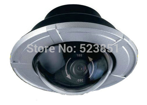 360 Degree Panorama Wide Viewing Angle Dome Camera 720P HD High Resolution Color Picture Quality