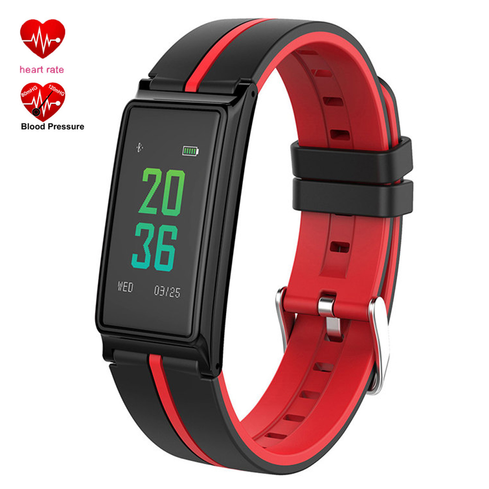 Smart Bracelet B5 Bluetooth Band IPS Color Screen Wristband Women Heart Rate Monitor Fitness Tracker Pedometer Pulse Wristwatch lady s travel wash cosmetic bags brushes lipstick makeup case pouch toiletry beauty organizer accessories supplies products
