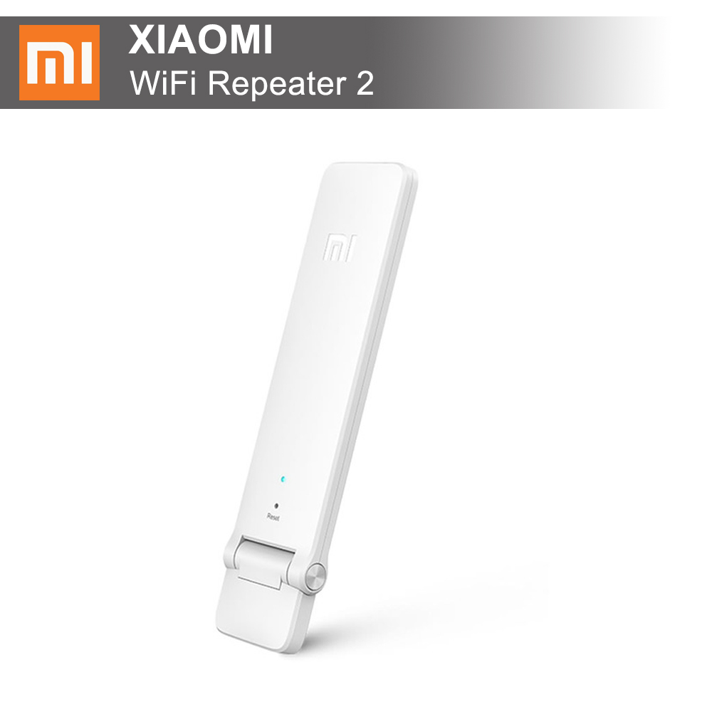 100 Original Xiaomi Mi WIFI Repeater 2 Amplifier Extender 2 Signal Boosters WiFi Wireless Universal Router