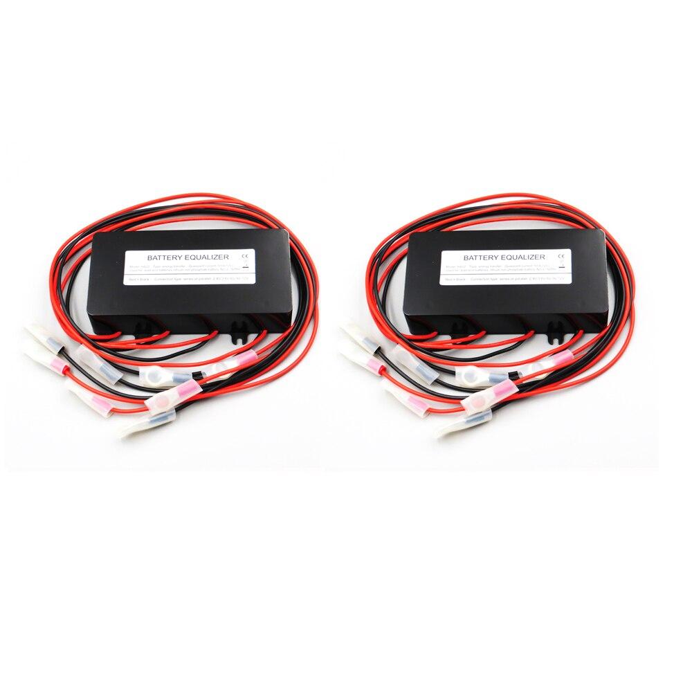 2pcs HA02 60V 72V 84V Battery equalizer used for lead acid batteris Balancer charger for lead