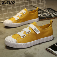 2017 Tide Fashion Summer New Ulzzang Candy Color Canvas Men S Board Shoes Students Comfortable Wild