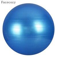 Facecozy 65 cm Programı Yoga Topları Pilates Denge Fitness Egzersiz Spor Top Pürüzsüz Patlamaya dayanıklı Anti-Slip Kalınlaştırmak Fitball