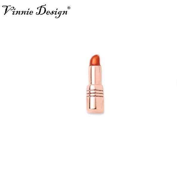 Vinnie Design Jewelry Lipstick Slide Charms fit on Keepers Bracelets Keys for Wrap Bracelet 10pcs/lot