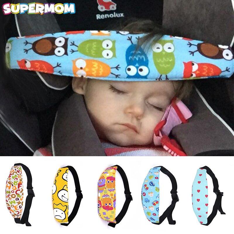 Car Belt Nap Seat Fasten Stroller Aid Sleep Baby Head Kids Safety Support Holder