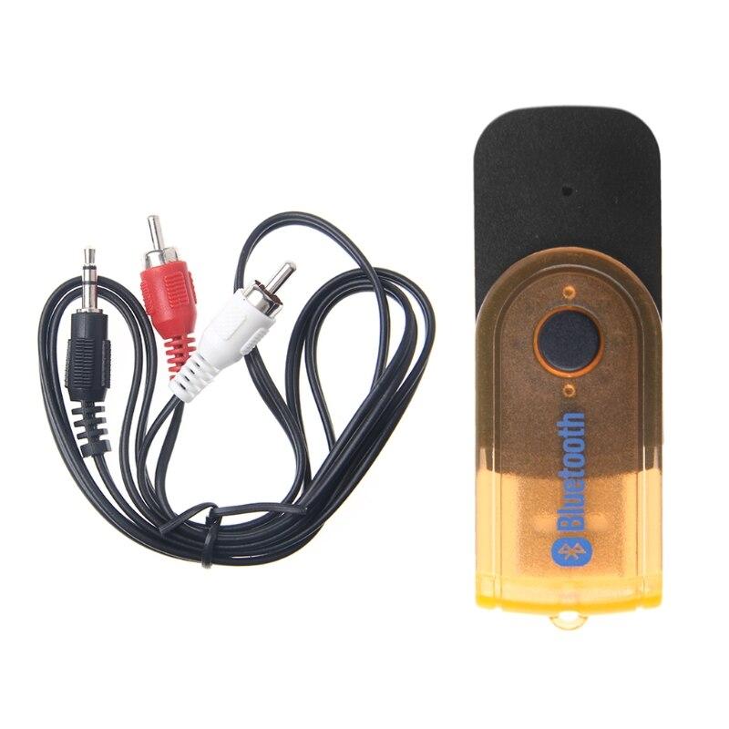 Ootdty Usb Wireless 3,5mm Klinke Bluetooth Musik Sender Audio Adapter Für Pc Tv Mp3 Unterscheidungskraft FüR Seine Traditionellen Eigenschaften Tragbares Audio & Video