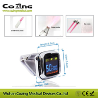 Diabetes Hypertension Treatment Watch Laser Sinusitis Therapeutic Apparatus 650nm Laser Therapy Wrist Diode LLLT
