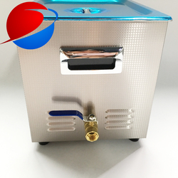 22L heated digital ultrasonic parts cleaner for automotive parts