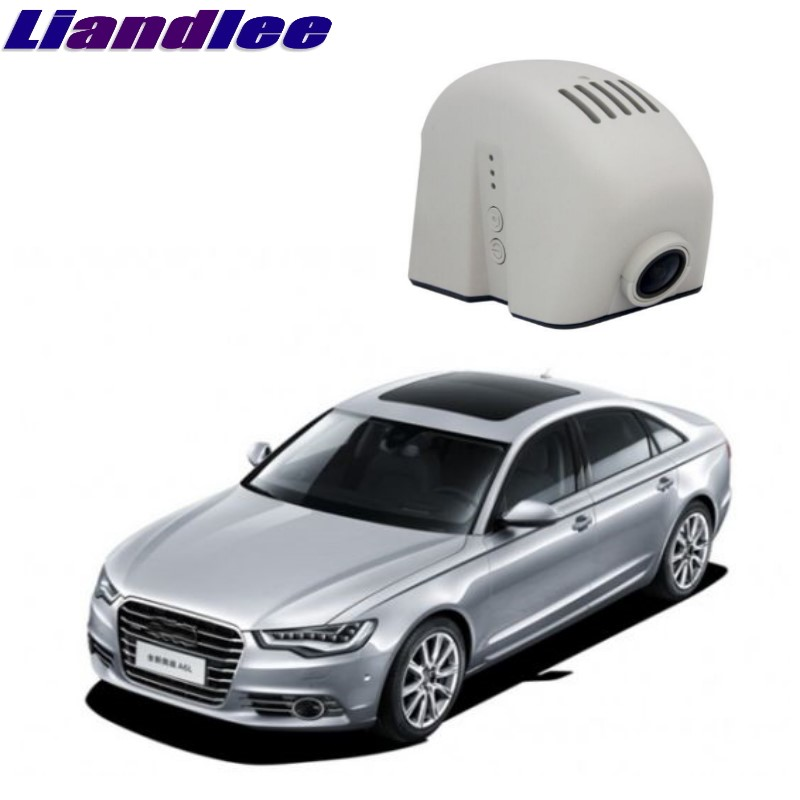 Liandlee For Audi A6 A6L S6 RS6 C6 2004~2011 Car Black Box WiFi DVR Dash Camera Driving Video Recorder radiator cooling fan relay control module for audi a6 c6 s6 4f0959501g 4f0959501c