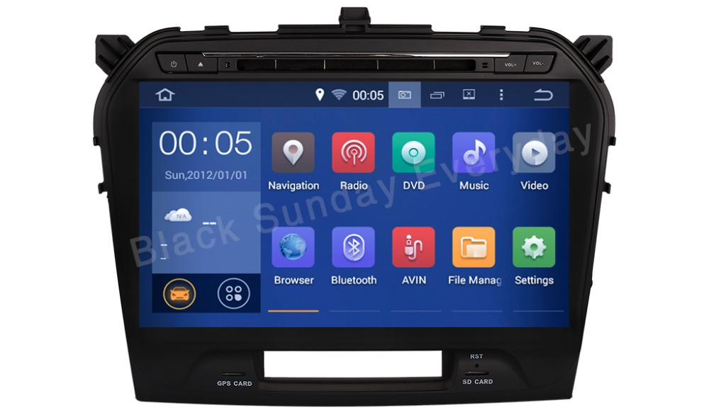free gifts quad core android fit suzuki vitara 2015 2016 2017 car dvd player gps radio. Black Bedroom Furniture Sets. Home Design Ideas