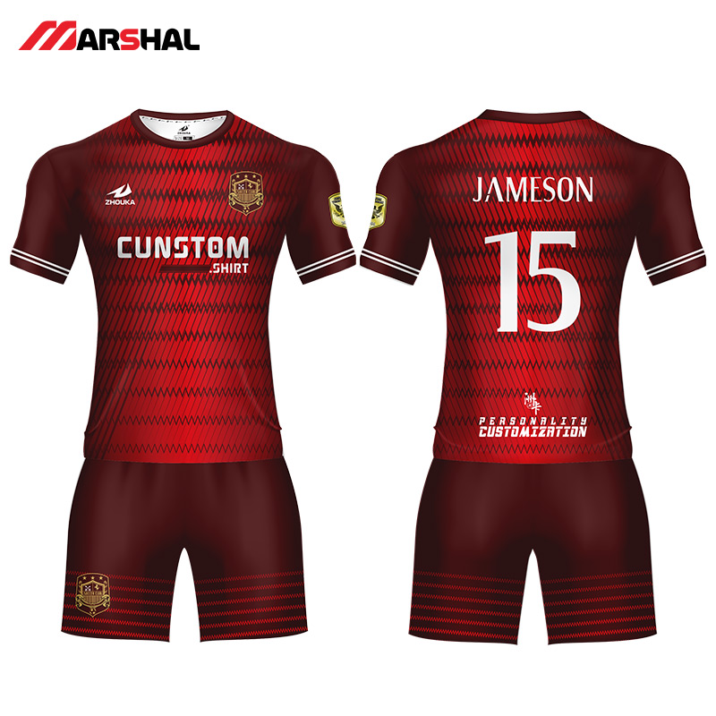 9434b1867 Personalized design soccer uniforms for club football kits jerseys custom  any logo numbers make on line